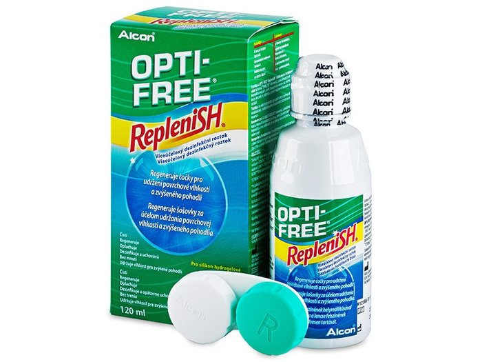 Alcon Opti-Free RepleniSH 120 ml s pouzdrem