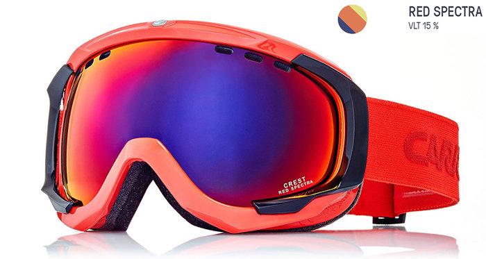 Carrera Lyžařské brýle Carrera CREST SPH - červené/red