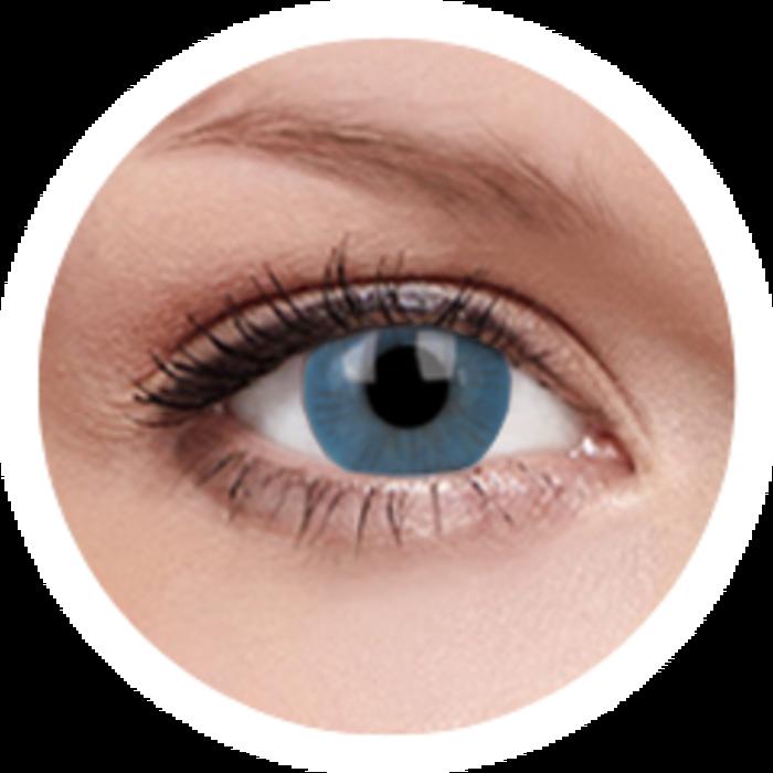 maxvue vision ColourVue Basic - Blue (2 čočky tříměsíční) - nedioptrické