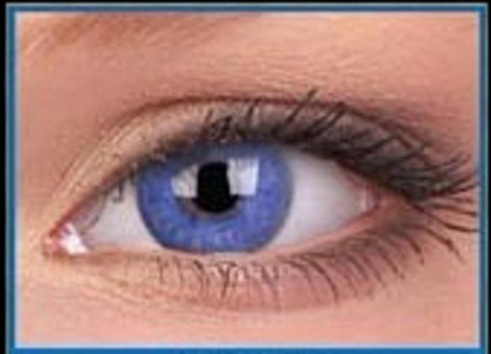 maxvue vision SoftColours - Blue (2 měsíční čočky) - nedioptrické