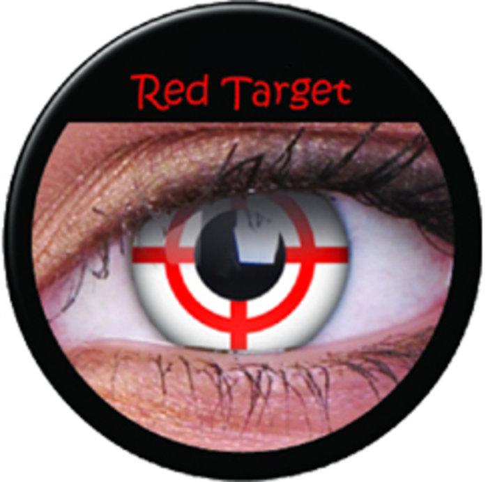 maxvue vision ColourVue CRAZY ČOČKY - Red Target (2 ks tříměsíční) - nedioptrické