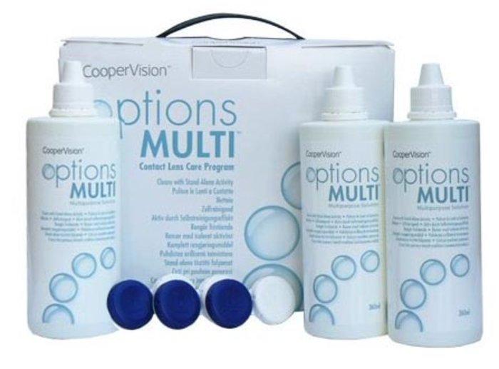 Cooper Vision Options Multi 3x360ml s pouzdry
