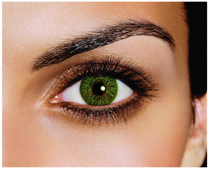 Alcon FreshLook Colors - Green (2 čočky měsíční) - nedioptrické