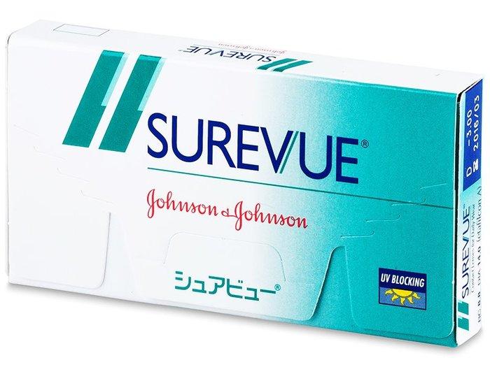 Johnson & Johnson Surevue (6 čoček) - Doprodej Dioptrie -1,00, Zakřivení 8.8