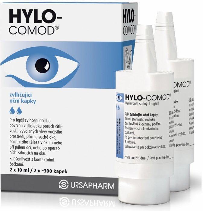 Ursapharm spol. s r.o. Hylo-Comod 2x10 ml
