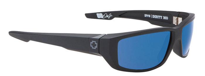spy optic SPY sluneční brýle DIRTY MO Matte Black Blue - Polarizační