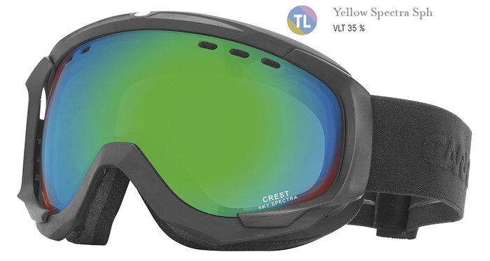 Carrera Lyžařské brýle Carrera CREST SPH - černé/yellow