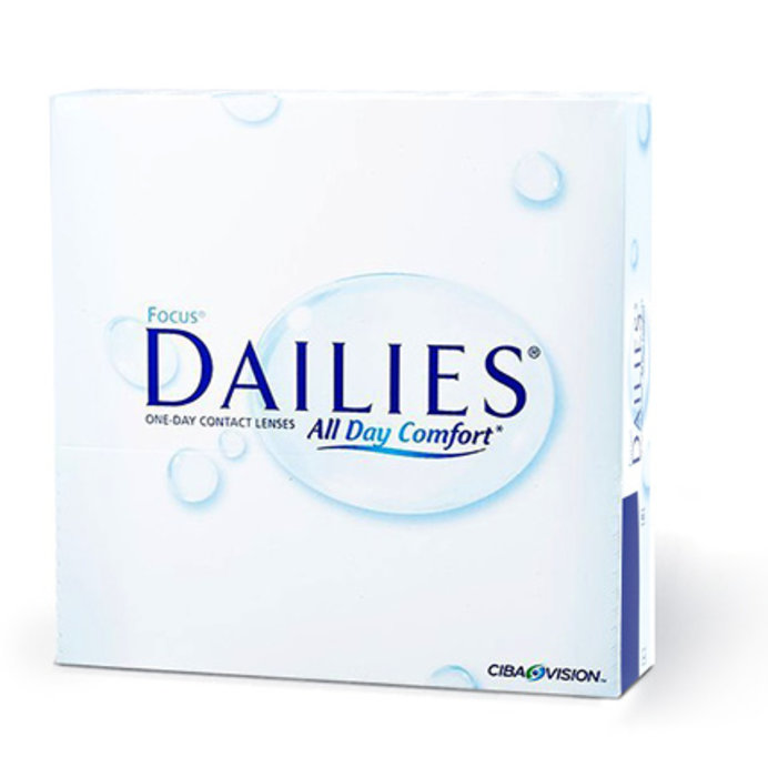 Alcon Dailies All Day Comfort (90 čoček) Dioptrie +1,00, Zakřivení 8.6