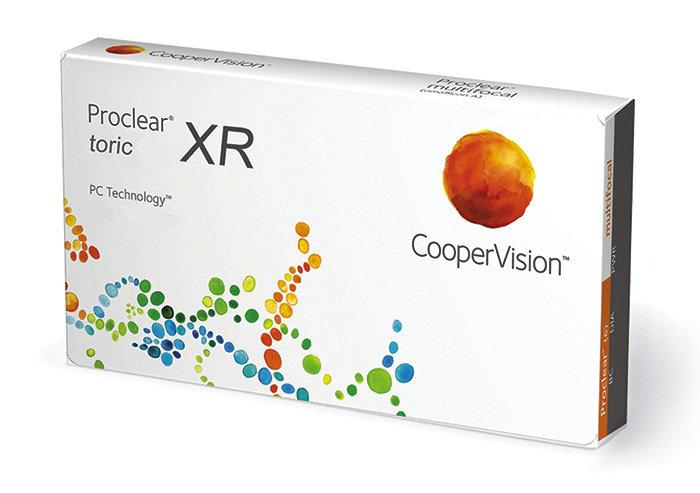 Cooper Vision Proclear Toric XR (3 čočky) Dioptrie -1,50, Cylindr -4,75, Osa 5°