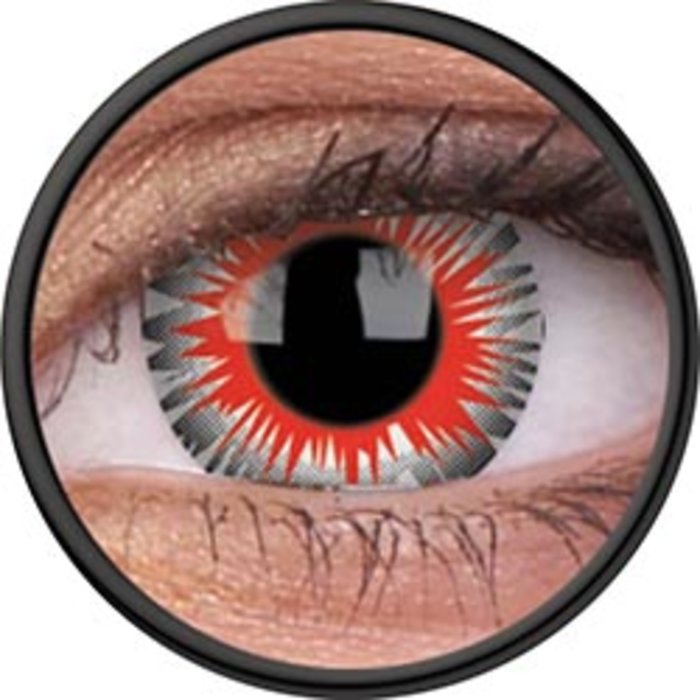 Maxvue Vision ColourVue Crazy čočky - Axon (2 ks roční) - nedioptrické