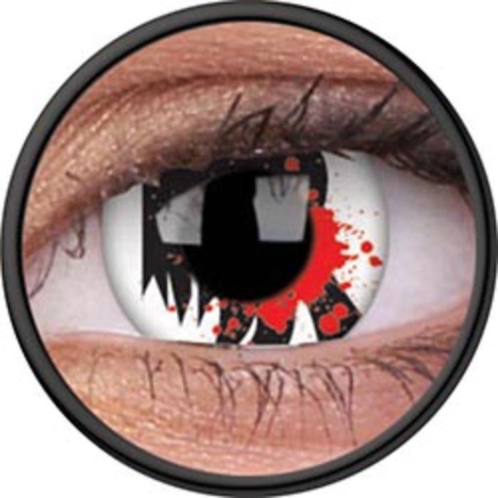 Maxvue Vision ColourVue Crazy čočky - Bloodscream (2 ks roční) - nedioptrické